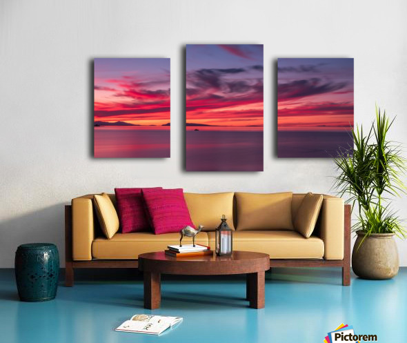Late summer sunset DSC_3498 Canvas print
