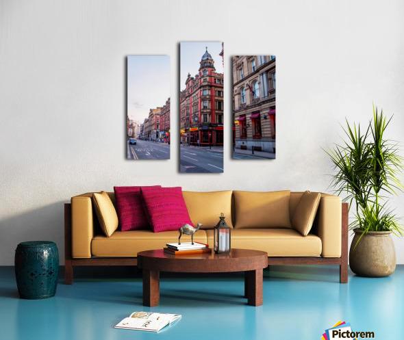Liverpool street Canvas print