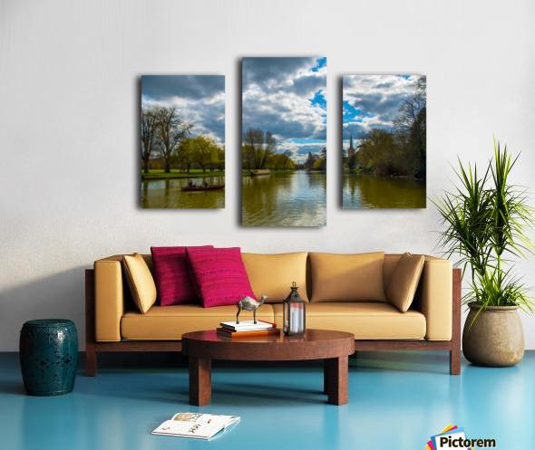 Stratford-Upon-Avon River Canvas print