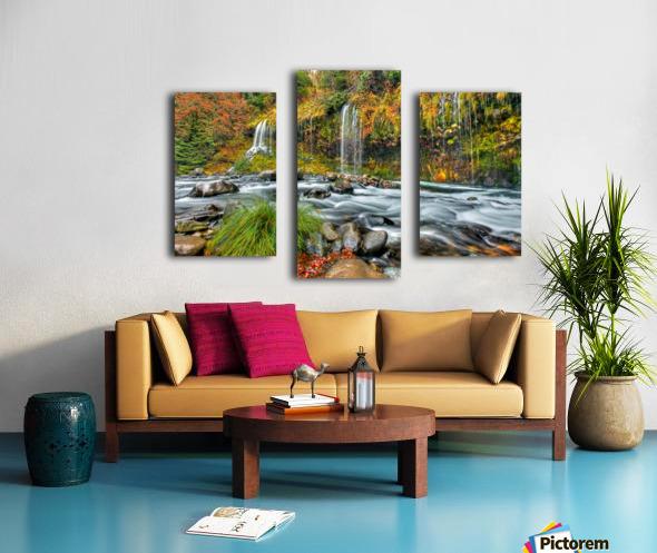ColorFall Canvas print