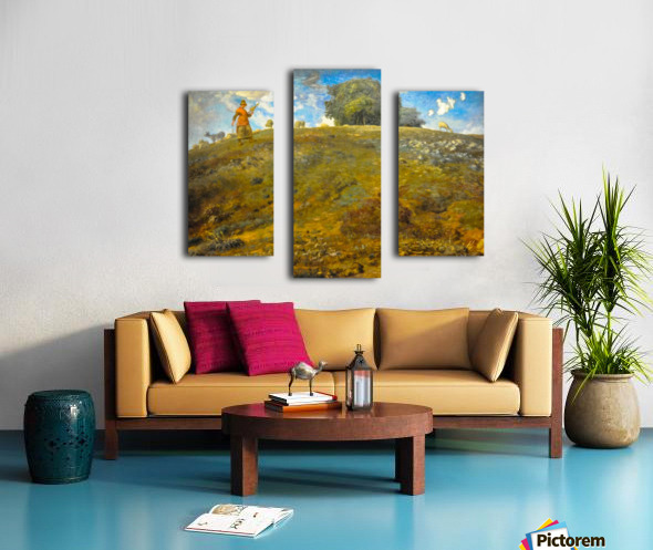 In the Auvergne Canvas print