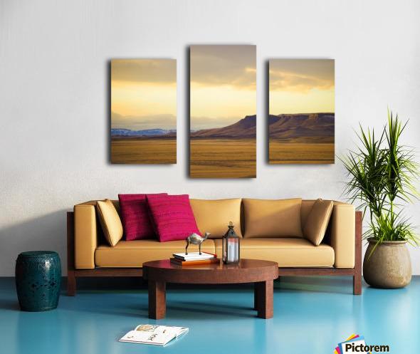 Square Butte Canvas print