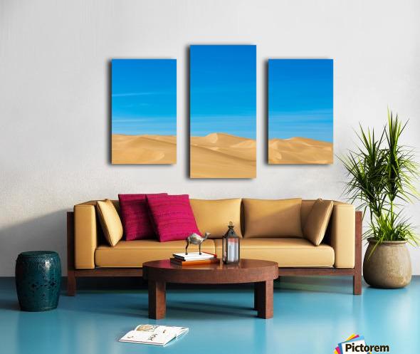 Painters dream Canvas print