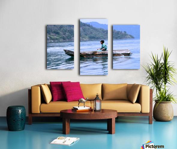 En Lago de Atitlan, Guatemala Canvas print