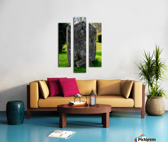 Tombstone Canvas print