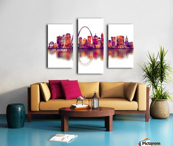 St. Louis Missouri Skyline Canvas print
