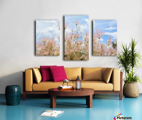Pink Flora New Mexico Photograph Canvas print