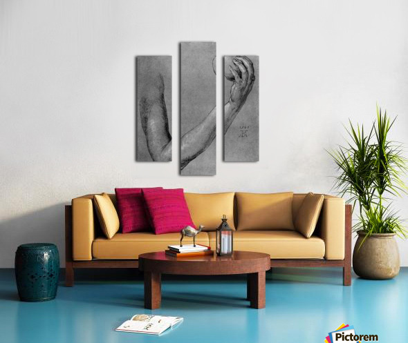 Arm of Eve Canvas print