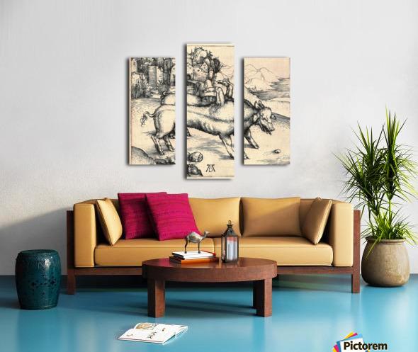 Monstrous Sow of Landser Canvas print