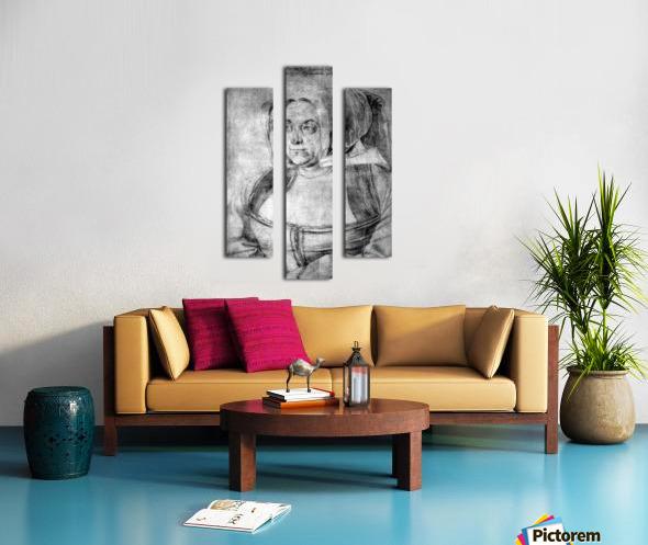 Agnes Durer in Dutch Tracht Canvas print