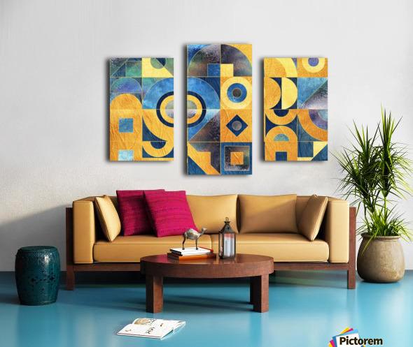 Geometric XXXXXVII Canvas print