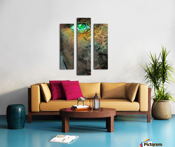 NYC Face Canvas print