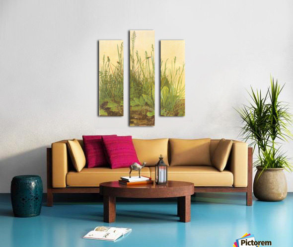 The large turf Canvas print
