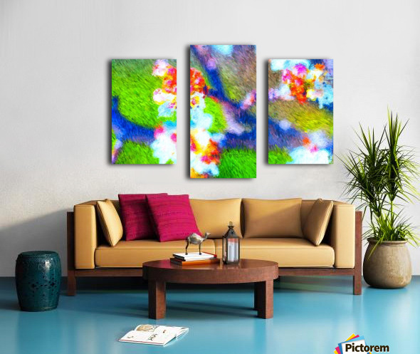 High On the Branch  Canvas print
