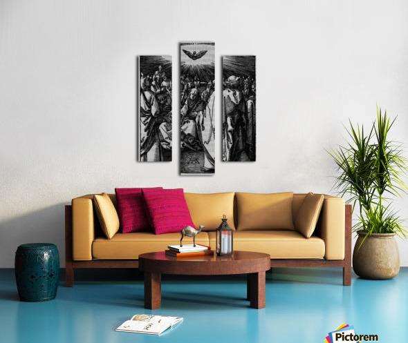 Holy wisdom presence Canvas print