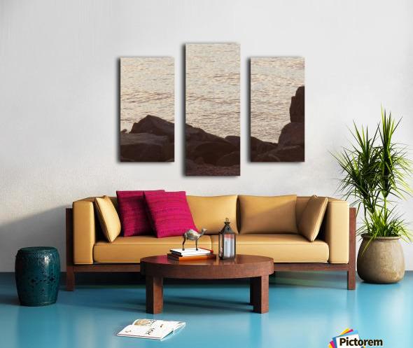 Rocky Shore 2 Canvas print