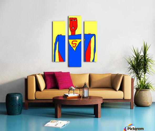 Superman Lite Canvas print