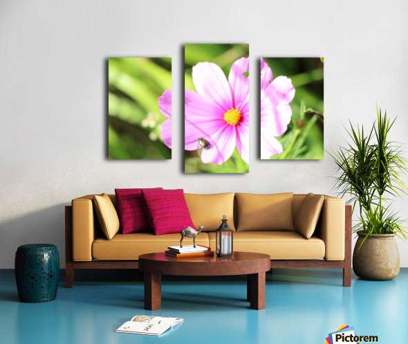 Flower Bug Canvas print