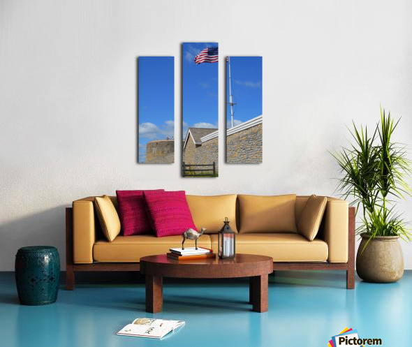 Historic Fort Snelling Canvas print