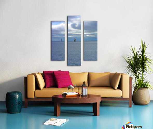 Tall Ships Vista Canvas print
