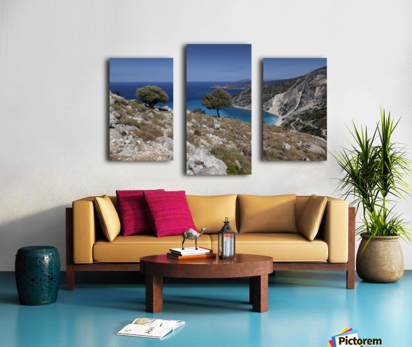 The Greek island of Kefalonia Canvas print