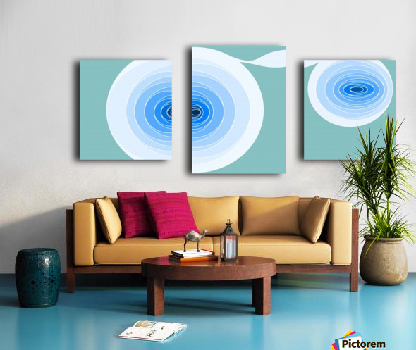 Hypnotize 2 Canvas print