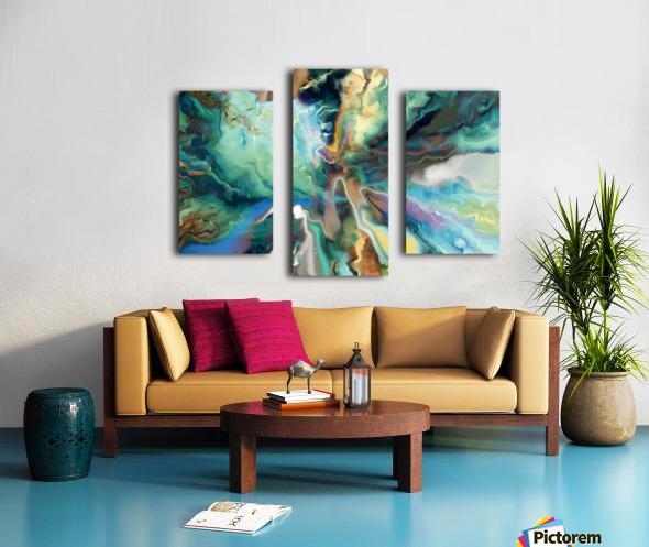Color Galaxy 20 Canvas print