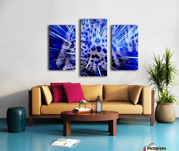 Leopard pop 4  Canvas print
