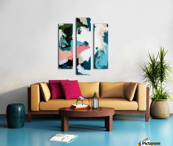Fantasy in Color Canvas print