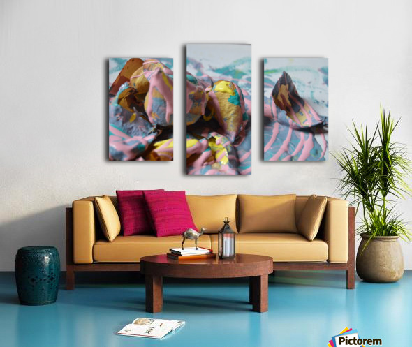 Painted Roses.09 Canvas print