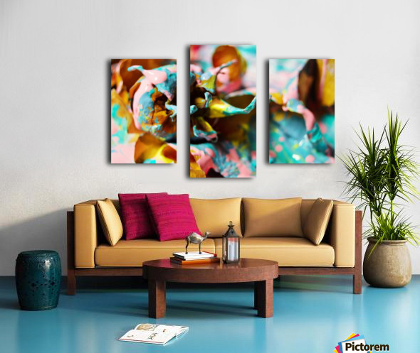 Painted Roses.10 Canvas print