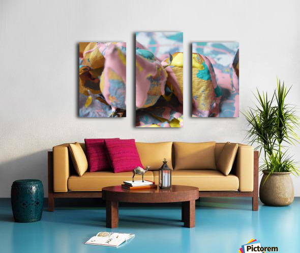 Painted Roses.13 Canvas print