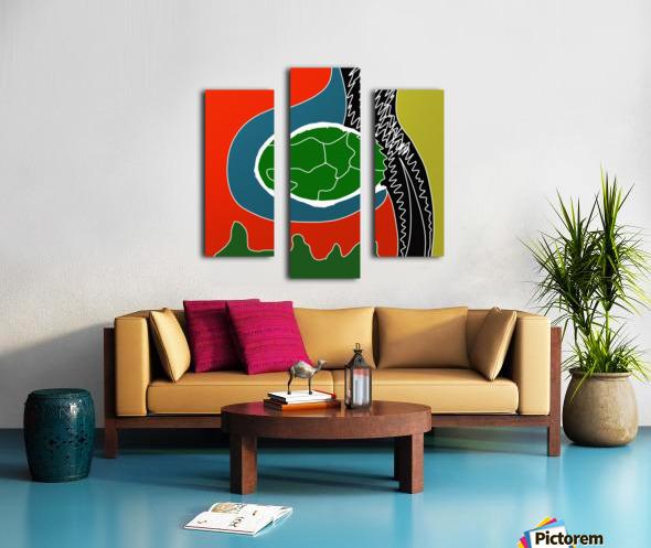 EarthWomb Canvas print
