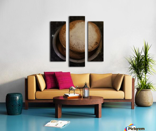 Indian Filter Coffee Canvas print