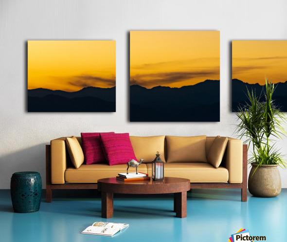 Aurora Westward 1 Canvas print
