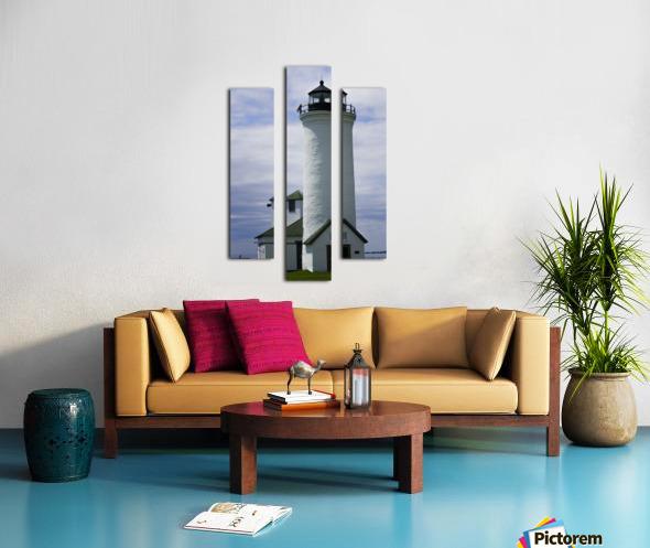Cape Vincent Lighthouse Canvas print