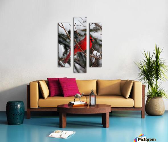 Vertical Cardinal Canvas print