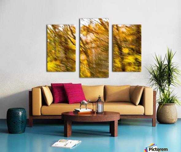 Foliage Blur Canvas print