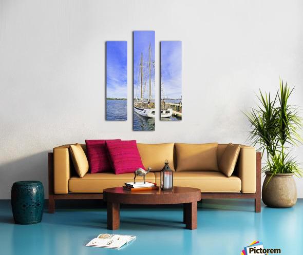 Mar Sailboat in Halifax Canvas print