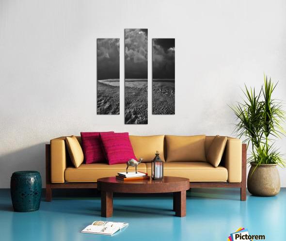 Night Shapes Canvas print