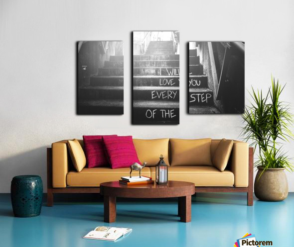 What Love Is Canvas print