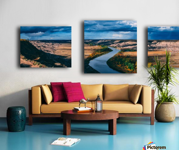 Orkney Fall 2018 Panorama 3x1 Canvas print
