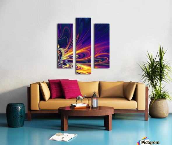 Abstract Composition 374 Canvas print