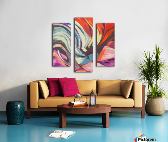 Abstract Composition 744 Canvas print