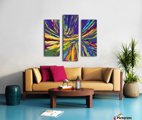 Abstract Composition 731 Canvas print