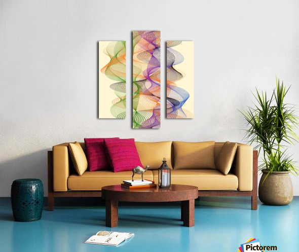 Abstract Composition 717 Canvas print