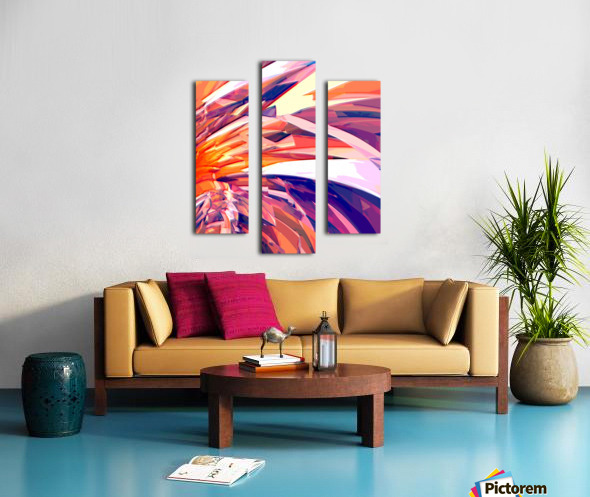 Abstract Composition 695 Canvas print