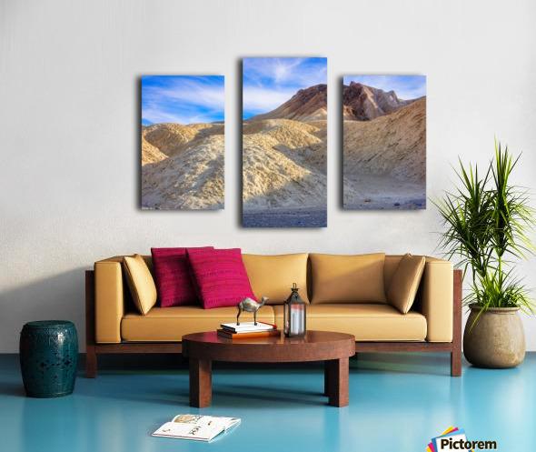 Badlands of Death Valley Canvas print