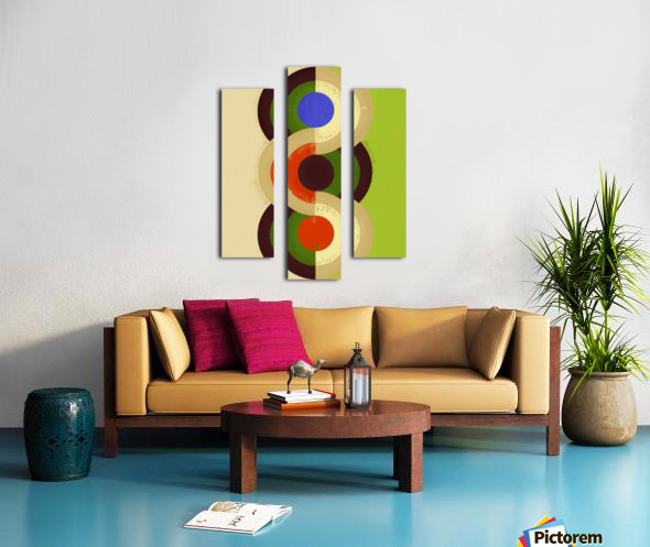 Abstract Composition 626 Canvas print