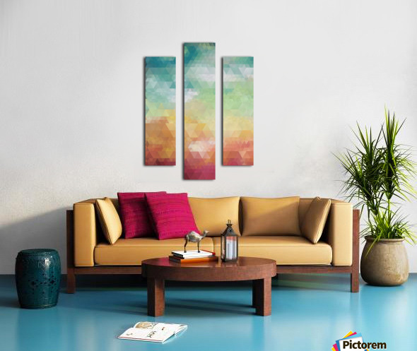 Abstract Composition 550 Canvas print